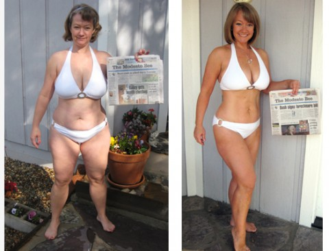 retired athletes weight loss