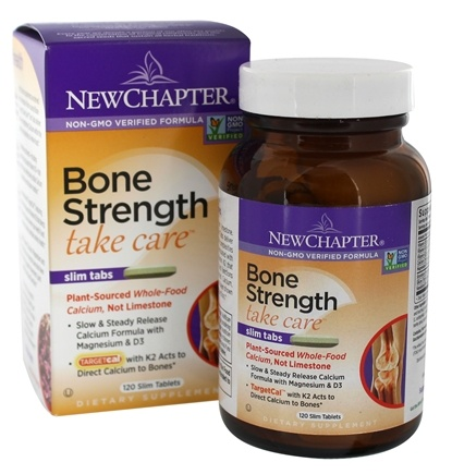 Bone Strength Take Care by New Chapter Review, 60 Slim Tablets