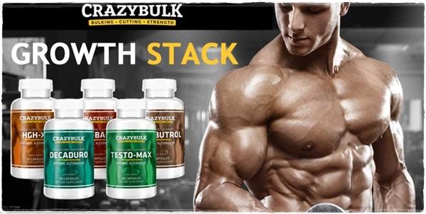 CrazyBulk GROWTH HORMONE STACK