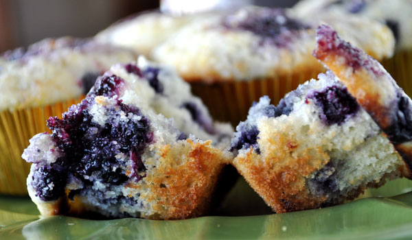 recipe: homemade blueberry muffins from scratch [25]