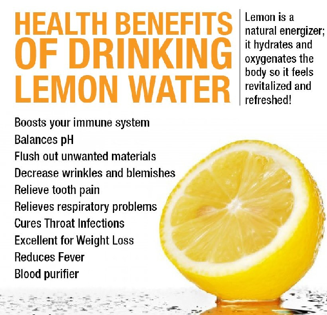 Are There Any Health Benefits To Drinking Lemon Water