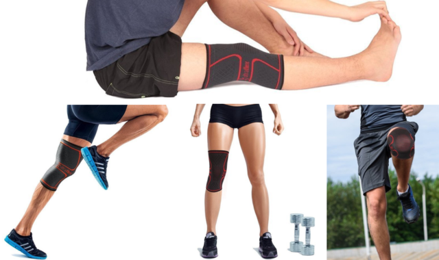 Uses of Athletes Knee Compression Sleeve Support by Ultra Flex