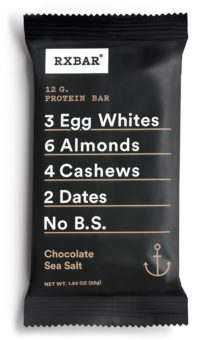 Rx Whole Food Protein Bar