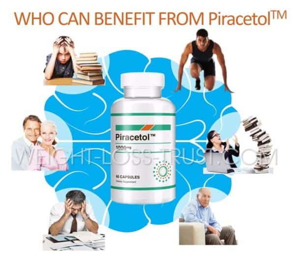 Who can benefit from Piracetol